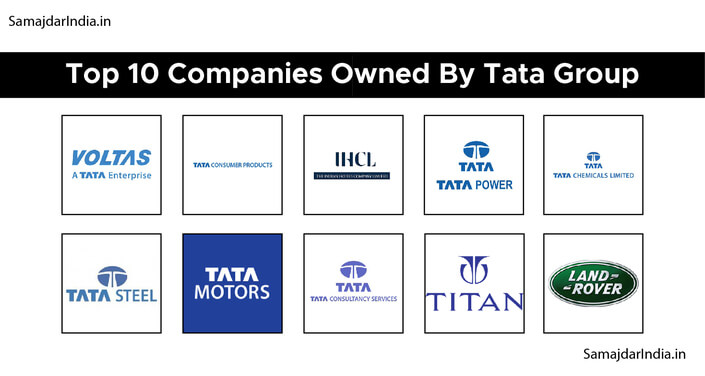 Top 10 Companies Owned by Tata Group