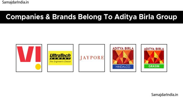 Companies & Brands Belong To Aditya Birla Group